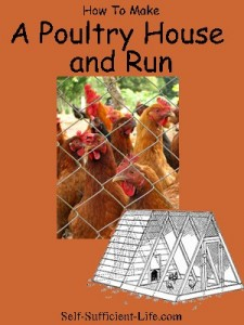 chickenruncover 225x300 Traditional Poultry Ark and Run Chicken Coop Plans